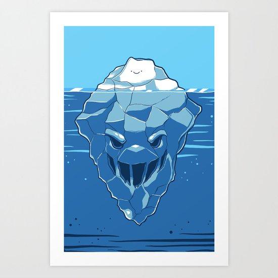Below the Surface Art Print