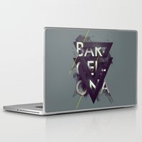 barcelona Laptop & iPad Skins featuring Barcelona by Giga Kobidze