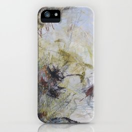 Walking in a Storm iPhone Case