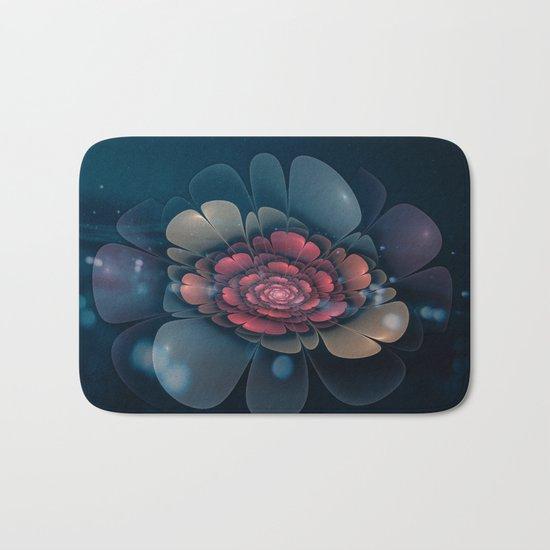 A Beautiful Fractal Flower Bath Mat