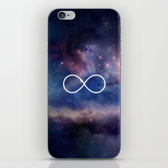 Infinity Symbol Stars Galaxy Space iPhone & iPod Skin