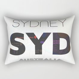 Sydney airport minimal Rectangular Pillow