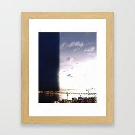 return stroke Framed Art Print