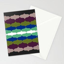 Retro 70s Pattern 6 Stationery Cards