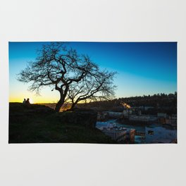 Lovers at Sunset Rug