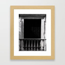 Influential doors Framed Art Print