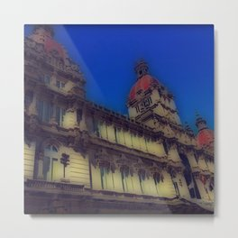 Spanish Architecture Metal Print