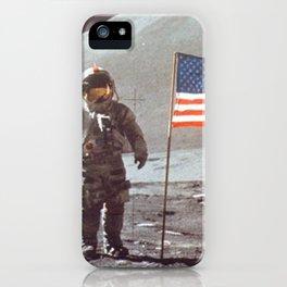 American Moon Landing iPhone Case