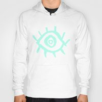 evil eye Hoodies featuring Evil Eye by schillustration