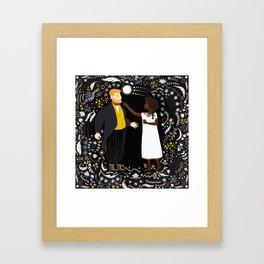 Pierre & Natasha Framed Art Print