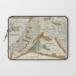 Vintage Map of Mesopotamia (1482) Laptop Sleeve