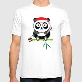 Holiday Panda T-shirt