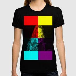 Kate moss superstar pop art T-shirt