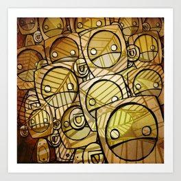 go ape Art Print