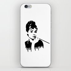 Audrey Hepburn Breakfast At Tiffany's iPhone & iPod Skin
