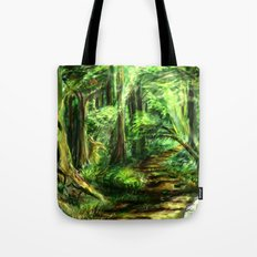 The Great Gaming Forest Tote Bag