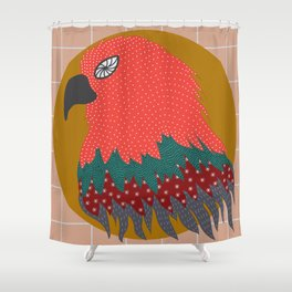 Electric Eagle Shower Curtain