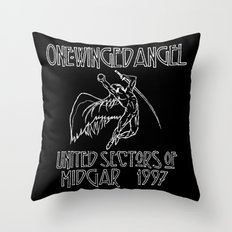Led Highwind: One-Winged Angel Throw Pillow