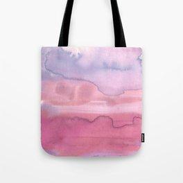 Melting Sunrise #1, Rose Magnifique Tote Bag