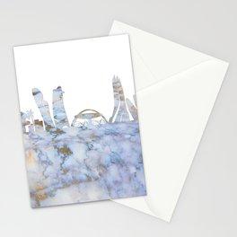 Abu Dhabi Skyline Stationery Cards