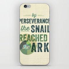 perseverance iPhone & iPod Skin