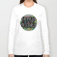 numbers Long Sleeve T-shirts featuring Numbers! by gasponce