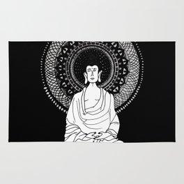 Buddha and Mandala Rug