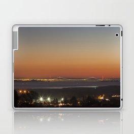 November Sunset over the Severn Laptop & iPad Skin