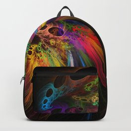 Rainbow rhinoceros Backpack
