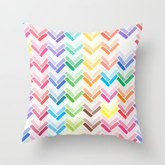 Colourful pattern Throw Pillow