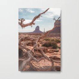 Monument Valley II Metal Print