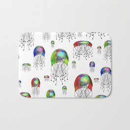 JELLYFISH BLOOM Bath Mat
