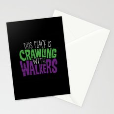 Crawling Walkers Stationery Cards