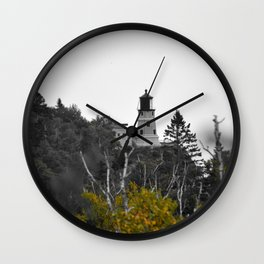 Split Rock Lighthouse Wall Clock