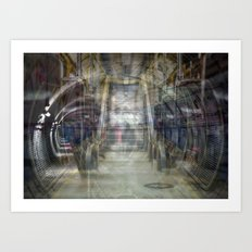 Trapped in a Moment Art Print