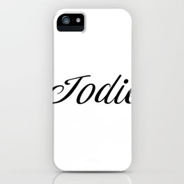 Name Jodie iPhone Case