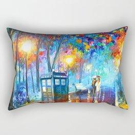 Tardis Romantic Night Rectangular Pillow