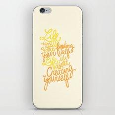 George Bernard Shaw (Orange) iPhone & iPod Skin