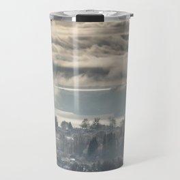 Winter in the City Travel Mug
