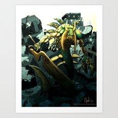 MONSTERISM Series - DAIKUK Art Print
