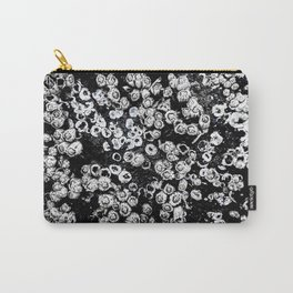 Black and White Barnacles Carry-All Pouch