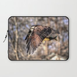 Osprey with Prey  Laptop Sleeve