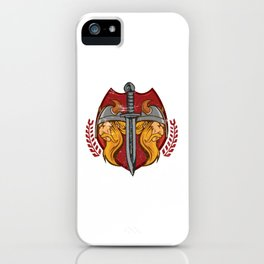 Viking Odin - Raven God Warrior iPhone Case