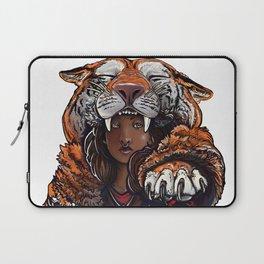 Tiger Lady Laptop Sleeve