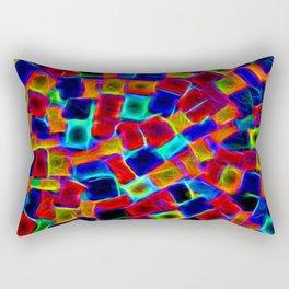 Neon lights Rectangular Pillow