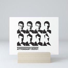 Samuel Beckett-En attendant Godot-Waiting for Godot Mini Art Print