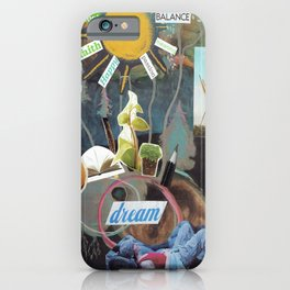 Collage - Labor of Love iPhone Case