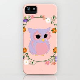 Owl Watch Over You iPhone Case