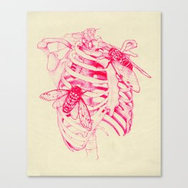 collarbone Canvas Print