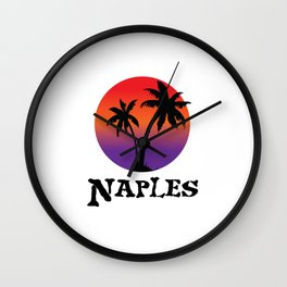 Naples Florida. Wall Clock